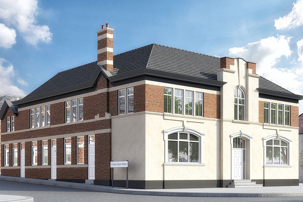Luxury New build Cross Key Mews, located in Pontefract. Situated in the heart of Pontefract this former public house has been transformed into 5 mews homes which all feature a high-quality specification that hosts an abundance of luxury features.