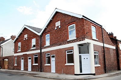 Luxury New build Princess House, located in Winsford. Tasked with upholding a historical building within the heart of Winsford, we delivered a collection of 4 separate 3-bedroom homes that are all presented to a marvellous standard.